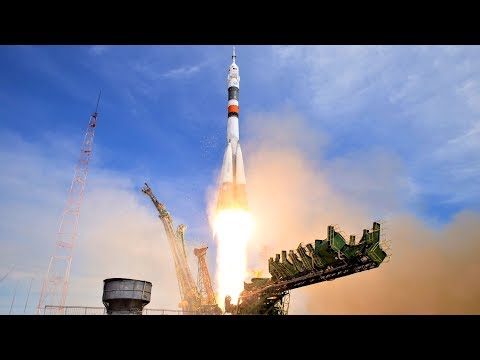 Soyuz MS-05 ISS Expedition 52-53 Crewed Launch To ISS - Live Mirror And Discussion