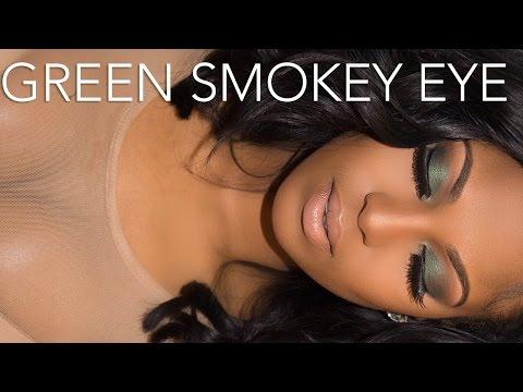 Emerald Green Smokey Eye Tutorial
