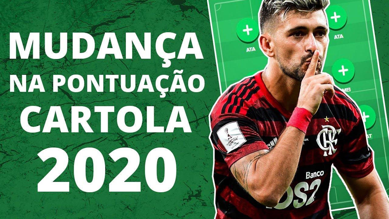 TODAS AS MUDANÇAS NA PONTUAÇÃO DO CARTOLA FC 2020 E NOVIDADES