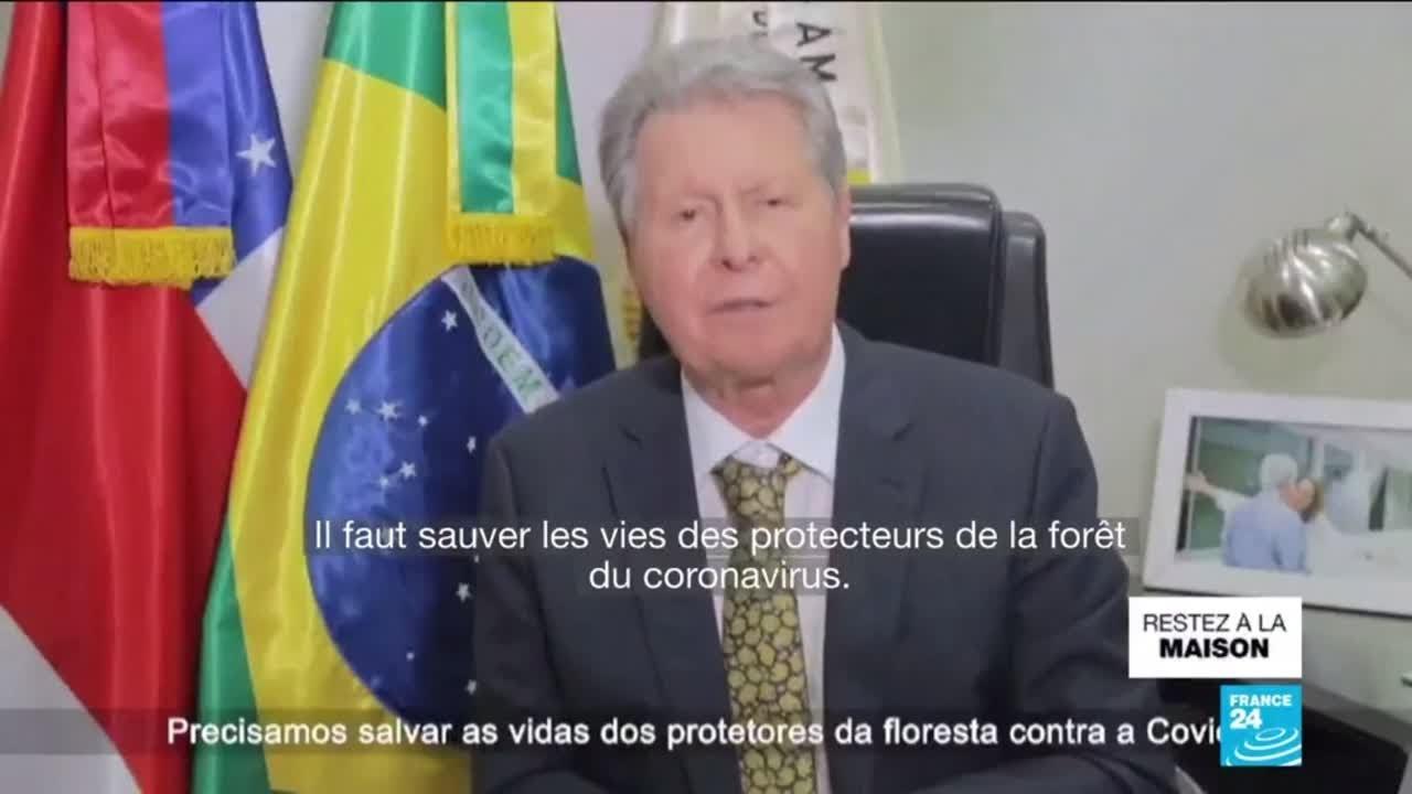 """Covid-19 au Brésil : des """"scènes de film d'horreur"""" à Manaus, au cœur de l'Amazo"""
