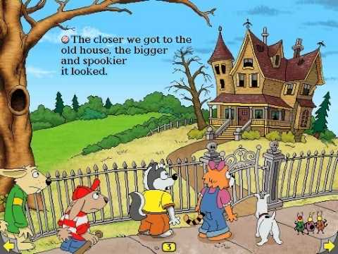 Harry and the Haunted House Download (1994 Educational Game)