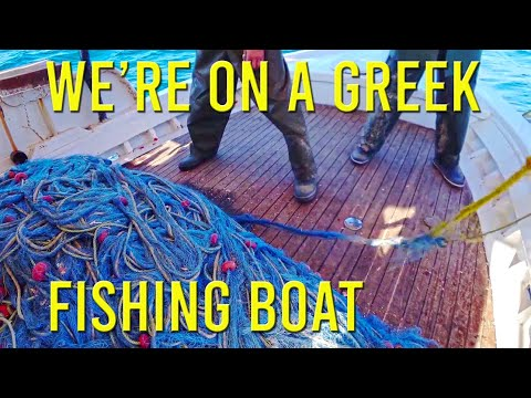 What Do Greek Fishing Boats Catch? - Sailing A B Sea (Ep.106)