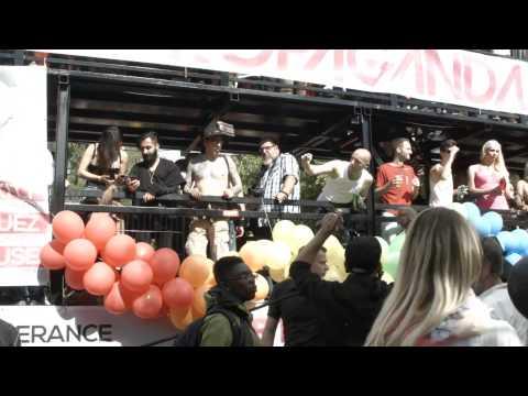 Gay Pride Berlin - Christopher Street Day Berlin 2014 - Human Rights Love Fun