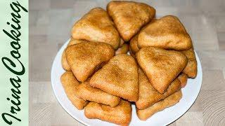 Жареные Пирожки с Картошкой 🥔 Постное Дрожжевое Тесто для Жареных Пирожков ✧ Ирина Кукинг