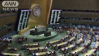 日本が毎年、提案している核兵器廃絶決議案が国連で正式に採択されまし...