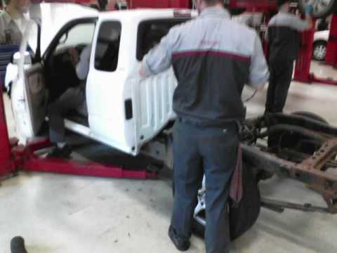 2003 2004 toyota tacoma 4x4 4x2 24th and 25th frame replacements.wmv ...