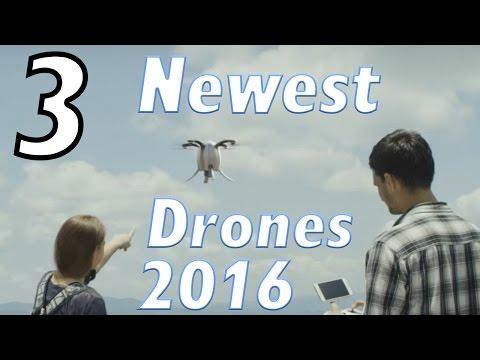 Top 3 Upcoming & Uniquely Designed Drones of 2016