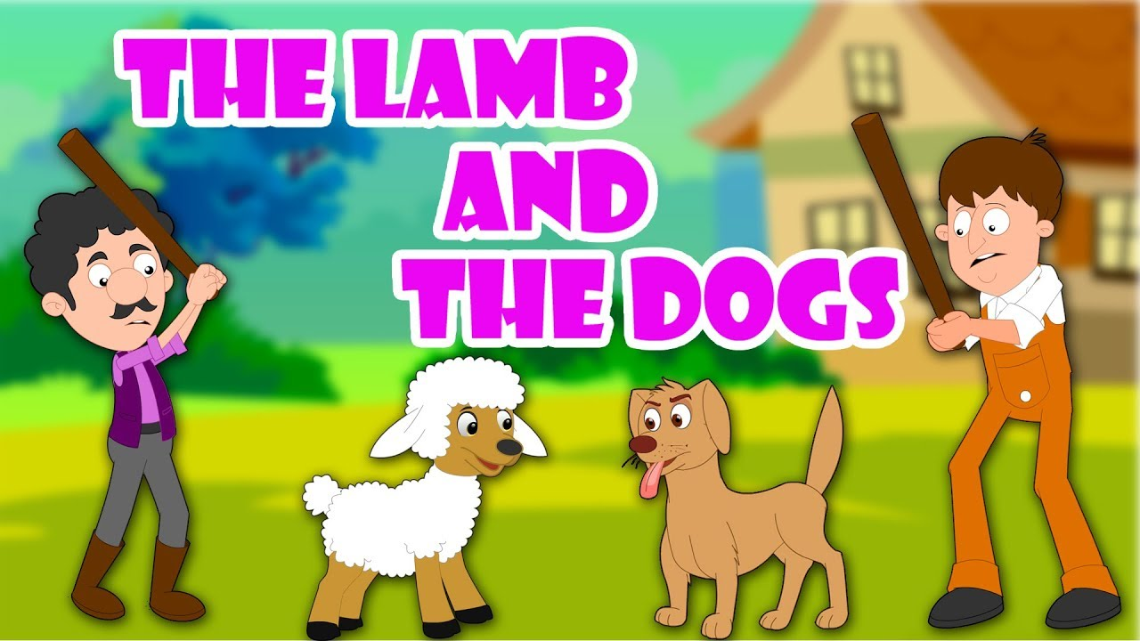 The Lamb and The Dogs | English Stories For Kids | Animated Kids Stories |  Bedtime Stories For Kids