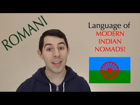 Romani: Language of Modern Indian Nomads!