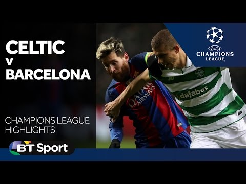 Celtic 0-2 Barcelona   Champions League highlights New Flash Game