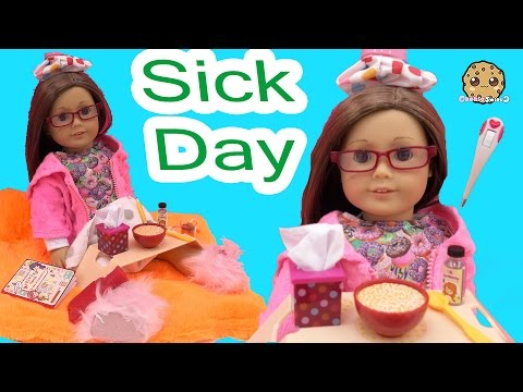 Thumbnail: Sick Day - Get Well American Girl Doll with Our Generation Under the Weather Care Set