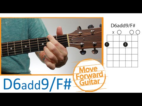 Guitar Chords for Beginners - D6add9/F#
