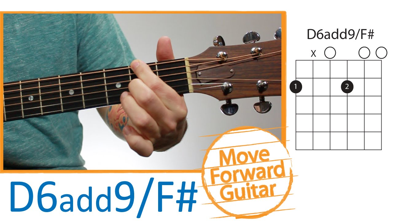 Guitar Chords For Beginners D6add9f Youtube