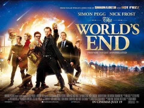 The World's End Trailer #2 - Music by NERO,SOUP DRAGONS... [HD]
