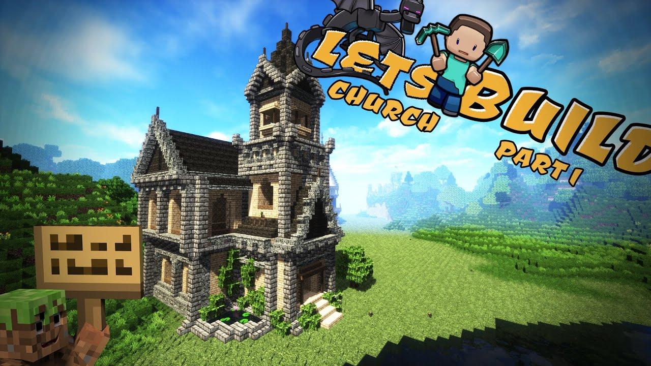 Minecraft Kirche Mittelalter