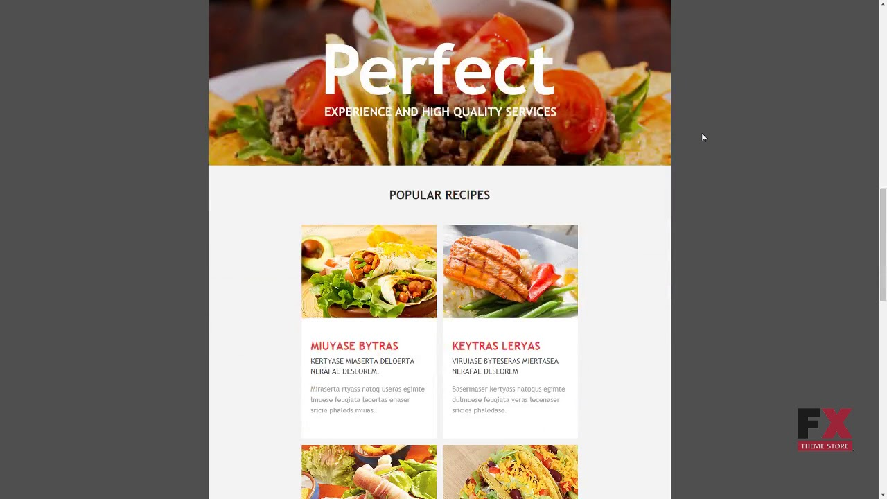 Mexican Restaurant Responsive Newsletter Template TMT | Free ...