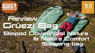 GREÜZI BAG BIOPOD DOWNWOOL SLEEPING BAG REVIEW | SUPER COMFY!