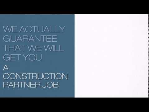 Construction Partner Jobs In Toronto, Ontario, Canada
