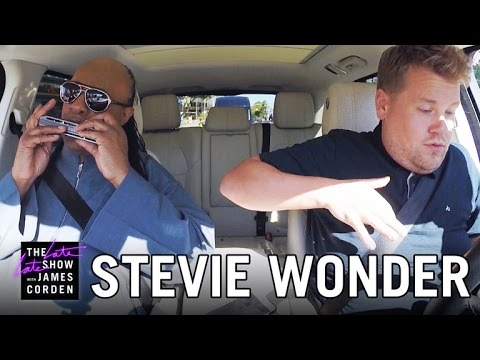 Thumbnail: Stevie Wonder Carpool Karaoke