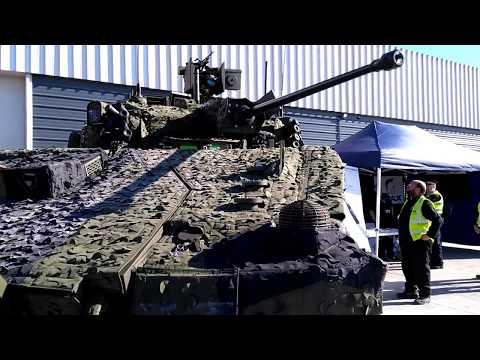 General Dynamics AJAX on first public display