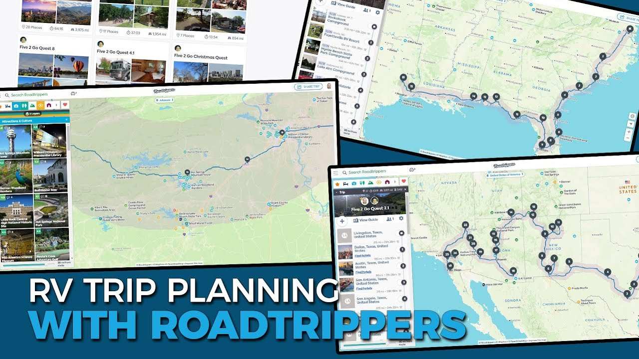 Roadtrippers Plan Your Journey Find Amazing Places And Take >> Rv Trip And Route Planning With Roadtrippers Full Time Rv Family