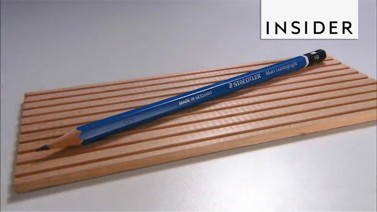 Како се прават моливи?