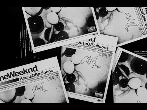 HOUSE OF BALLOONS VINYL HAND-SIGNED BY THE WEEKND UNBOXING!!