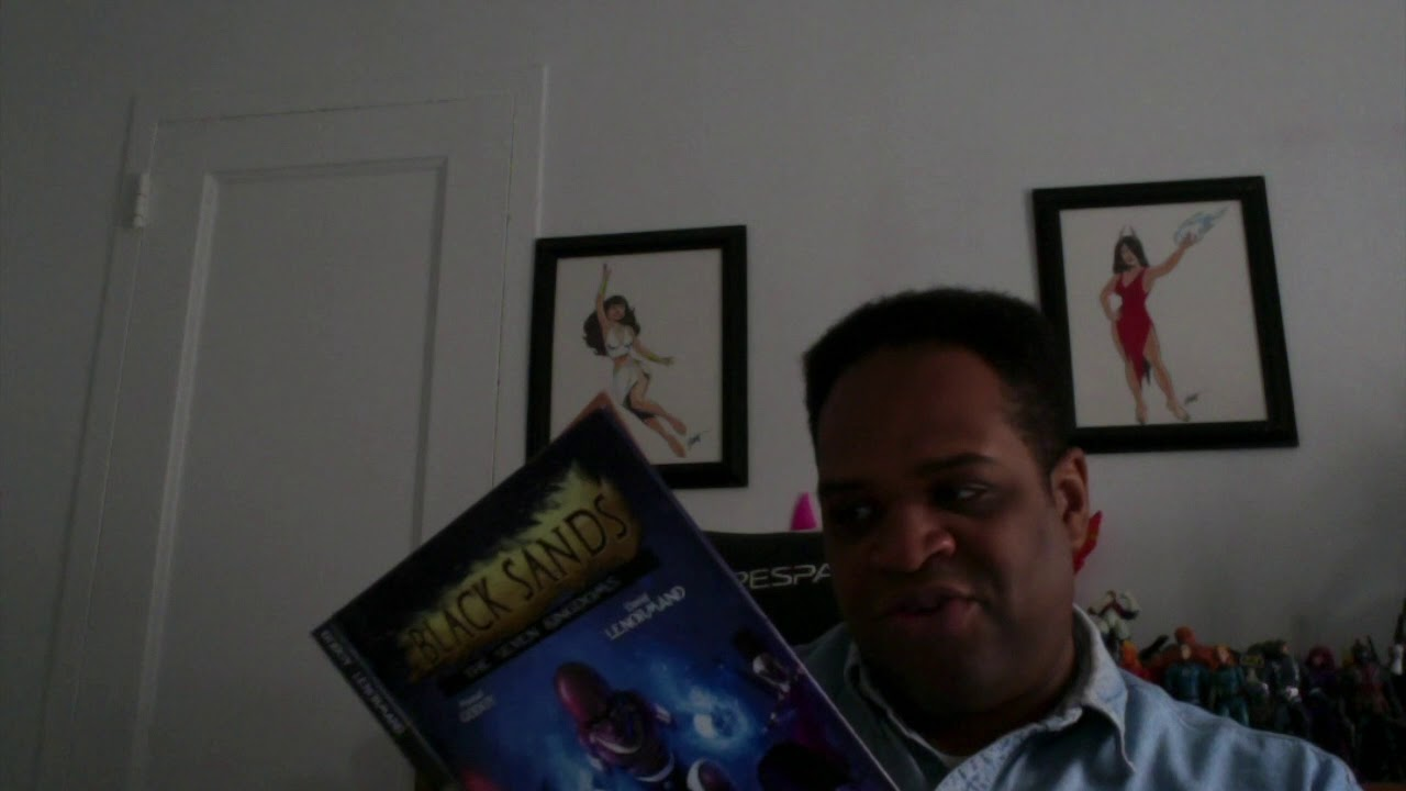 Black Sands The Seven Kingdoms- A COMIC YOU MUST READ!