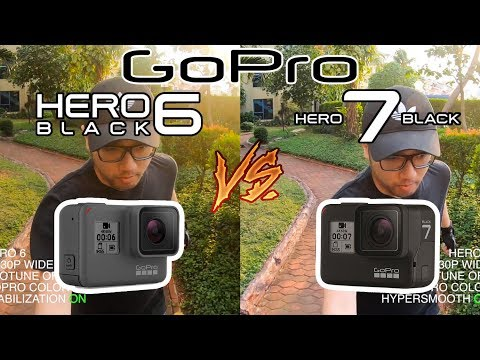 Perbandingan Gopro Hero 7 Black Vs Hero 6 Black Indonesia 2018 !