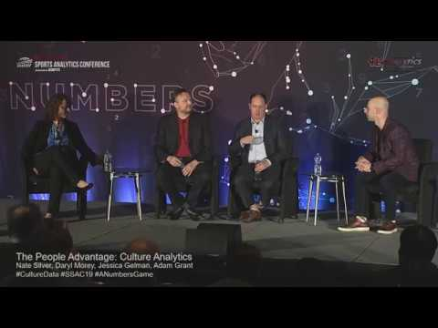 SSAC19: The People Advantage: Culture Analytics