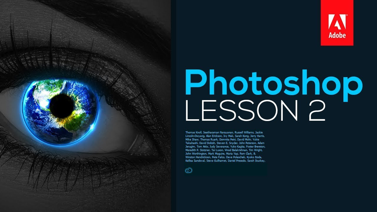 Adobe Photoshop CC 2017: Tutorial for Beginners – Lesson 2 (Extended)