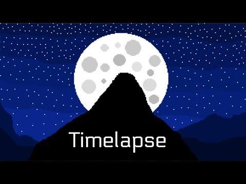 Pixel Moonlight Timelapse