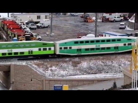 GO Train, North York ON, GO 600