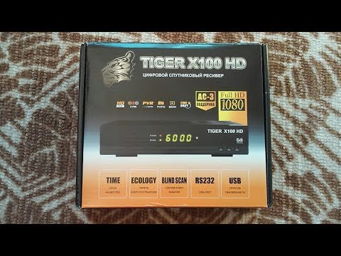 Tiger X100 HD Dolby Digital AC3 - Sat-madi com ua
