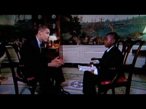 Damon Weaver, kid reporter who interviewed Barack Obama at ...