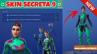 REVELADA SKIN SECRETA TEMPORADA 9: SKIN SINGULARIDADE FORTNITE! SKIN SECRETA REVELADA NO PATCH 9.30