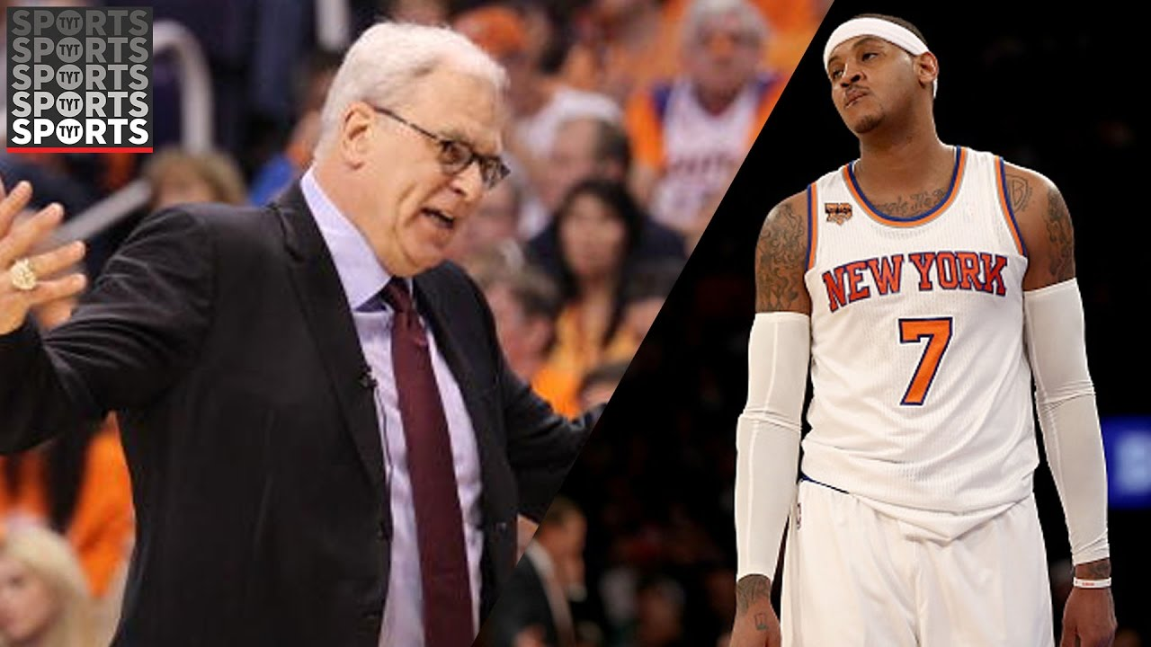 Knicks exec to reporter asking about Melo video: 'Get the f--- out of here ...