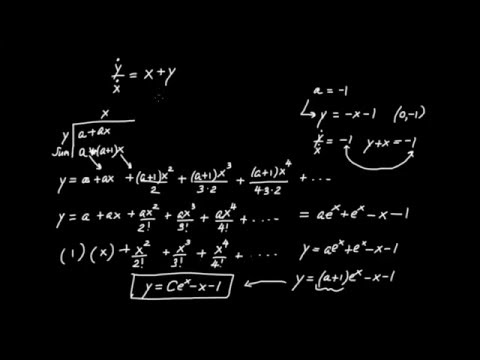 Newton's Infinitesimal Calculus (6): More Differential Equations and Series for e^x