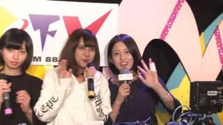 2016年10月27日放送 ゲスト:drop 小泉留菜 小日向麻衣 三嵜 みさと 滝口...