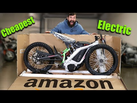 I BOUGHT the CHEAPEST ELECTRIC dirt bike on Amazon