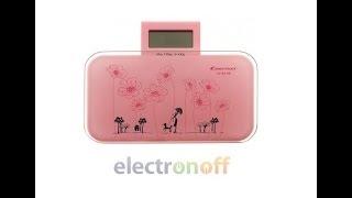 Электронные напольные весы Constant 14192-90 150 кг ! Видео обзор от Интернет-магазина Electronoff
