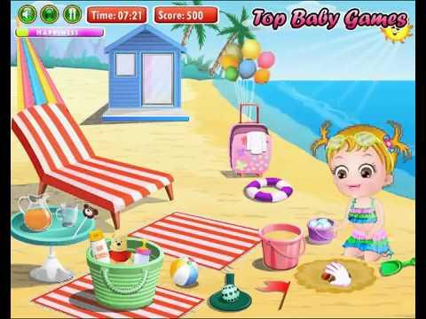 Бесплатные игры онлайн  Baby Hazel 3D Game Video  Малышка Хейзел игра для детей