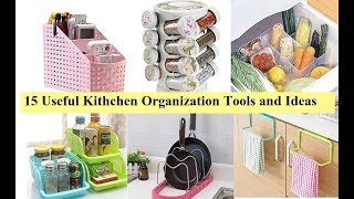 15 Useful  kitchen organizer with price | Kitchen organization ideas tips by Amazon India collection