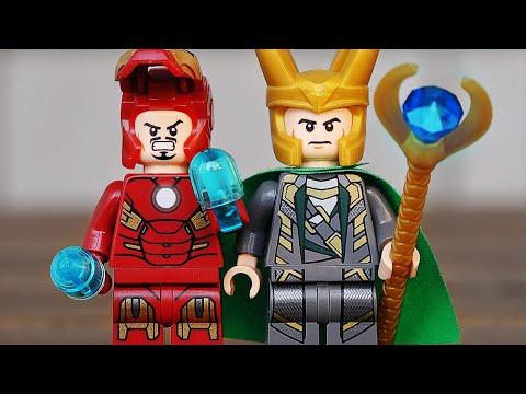 Локи и Железный Человек (LEGO Marvel Juniors 10721)