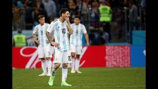 Argentina casi afuera del Mundial
