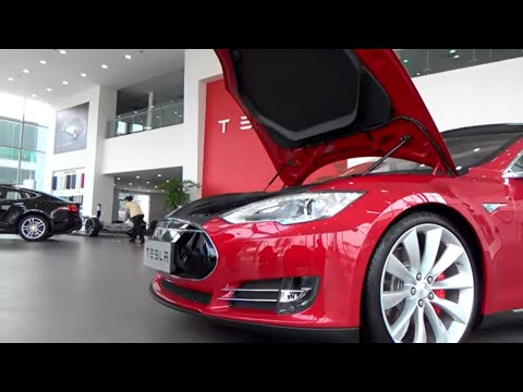 Tesla Motors: Visiting Tesla China! Worlds Largest Tesla Store! 4k UltraHD