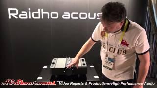Raidho X3 loudspeaker intro, Michael Borresen, Aavik amplifiers, Ansuz Acoustics cables, CES