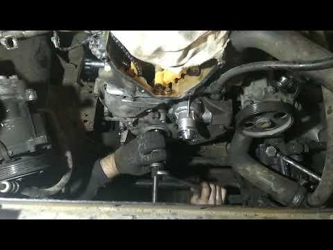 Течь масла передней крышки двигателя ЗМЗ 405,406,409.
