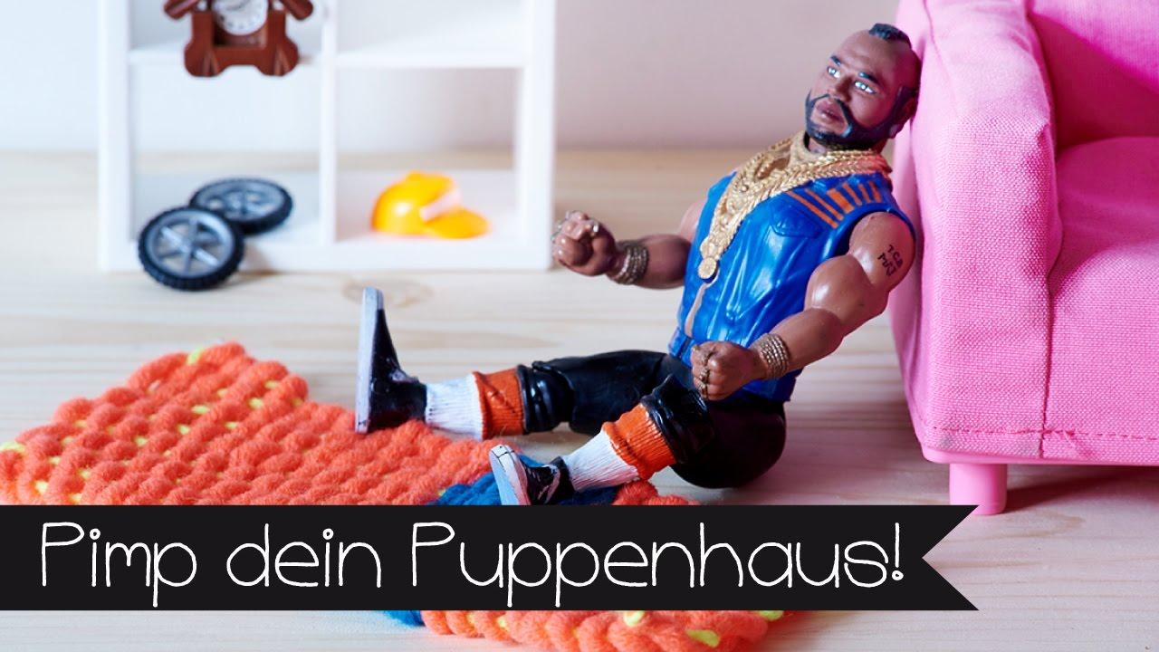 Basteln basteln mit kindern i teppich weben i upcycling - Puppenhaus basteln ...