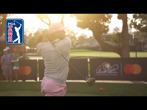 Bryson DeChambeau tries to max out swing speed and tests drivers